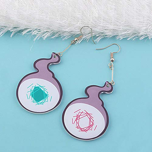 VASTAIR Toilet-bound Hanako-kun Earrings Cosplay Prop Dangle Ear Drop Women Men Unisex Gift