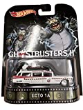 Hot Wheels Ghostbusters 2 Ecto-1A 2015 Retro Series 1/64 Die Cast Vehicle