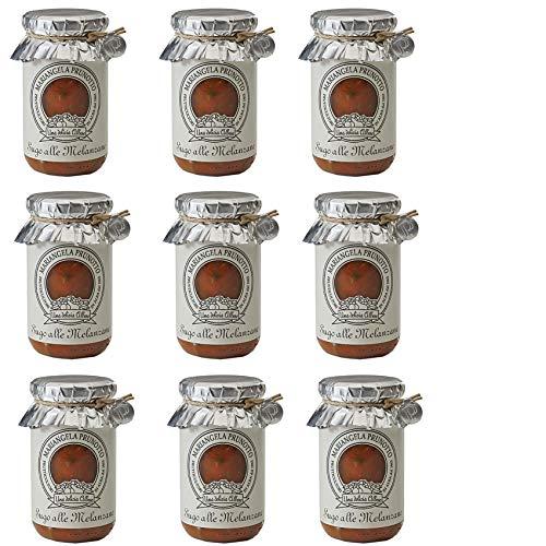 Azienda Agricola Prunotto Mariangela - Sugo Alle Melanzane 215 g - 9 Confezioni da 215 g