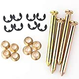 Heavy Duty Car Door Hinge Roller Pin and Bushing Repair Kits(4 Pin 2 Door )Compatible With Ford F150 F250 F350 Bronco Replace OE # 38410, D90Z6522841C