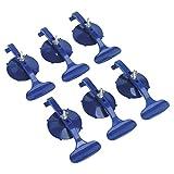 Sealey RE006 - Juego de abrazaderas de succión (6 unidades), color azul...