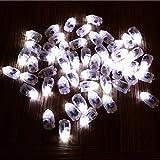 Hangqiao LED Lámpara, Blanca, 3.3x1.2x1.4cm