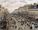 The Poster Corp Camille Pissarro – Boulevard Montmartre