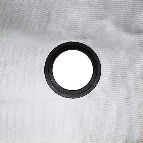 """Outfitters Supply Stove Jack Heat Shield for Canvas Tent, use to Extend Stove Pipe Through The Roof or Wall of Your Tent, Fire Proof NASA Material Rated to 700°, Made in The USA, 3"""" Round"""