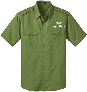 Sleeve Twill Shirt - 24 Quantity - $36.65 Each with Your Logo/Customized