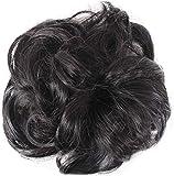 Soulitem Facile à Porter Stylé Cheveux Éponge Naturellement Salissant Bouclé...