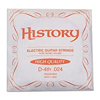 HISTORY HEGSH024 エレキギター弦 D-4th .024 バラ弦1本 (ヒストリー)