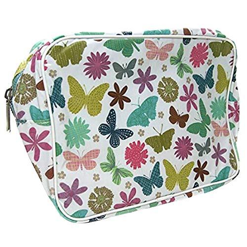 Roger la Borde Wash Bag Culture à laver sac trousse de toilette Butterfly