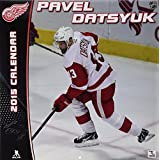 Turner Perfect Timing 2015 Detroit Red Wings Pavel Datsyuk Player Wall Calendar 12 x 12 Inches (8011569) [並行輸入品]