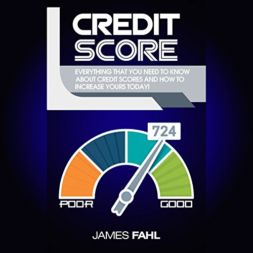 Credit Score audiobook cover art