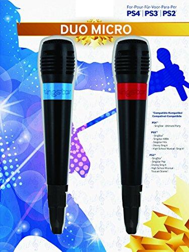 BigBen - Pack De 2 Micrófonos Singstar Con Cable USB...