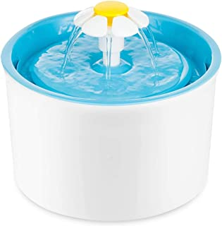 Mumoo Bear Pet Water Fountain Flower Style Automatic Electric Pet Drinking Fountain 1.6 L Dog Cat Drinking Bowl