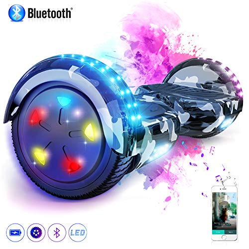 MARKBOARD Hover Board 6.5 inch con Bluetooth Scooter...