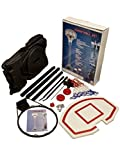 URBN-TOYS Outdoor Free Standing Portable Adjustable Basketball Hoop & Net Set