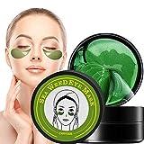 Augenpads, Eye Mask, Anti Aging Pads, Collagen Treatment Algen-Eye Mask, mit Hyaluron Augenpads entfernen Taschen dunkle Kreise & Puffiness 60 pcs/box