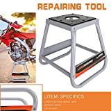 Motorcycle Lift Stand Panel Stand Dirt Bike Moto Removable for Most Motorcycles