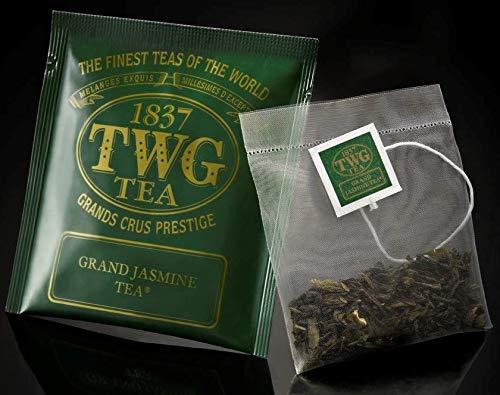 TWG Singapore - Luxury Teas - Grand Jasmine Tea - BULK PACK - 100 silk teabags