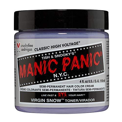 MANIC PANIC Virgin Snow Hair Toner - Blonde Toner