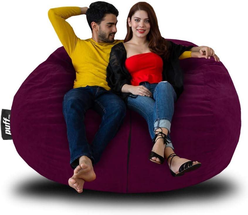 Sale Bean Columbus Mall Bag Puff - Sofa Bed: Furniture Soft 4' Big Foam