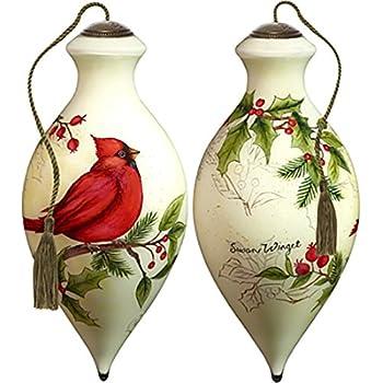 7171155 NeQwa Seasons Greetings Santa Ornament Precious Moments Company Inc