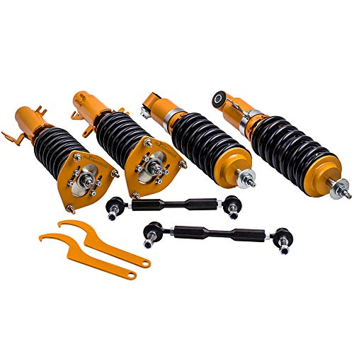 maXpeedingrods Complete Coilover Kit for Mini Cooper R56 2007-2013 Adj Damper Shock Absorbers