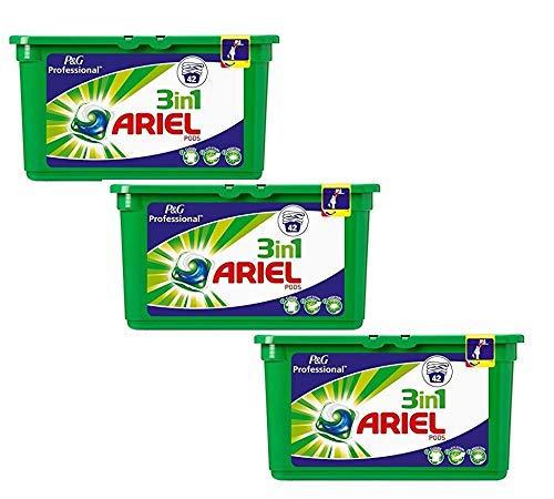 Ariel Professional 3in1 Pods Vollwaschmittel 126 Wäschen (3 x 42)
