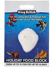 King British Bloque de Alimentos de Pescado de Vacaciones, Puede Variar