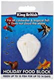 King British Holiday Fish Food Block, may vary