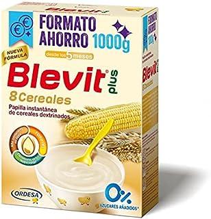 Blevit Plus 8 Cereales Formato Ahorro - Papilla de Cereales para Bebé con Harina de Avena y Harina de Trigo - Sin Azúcares...
