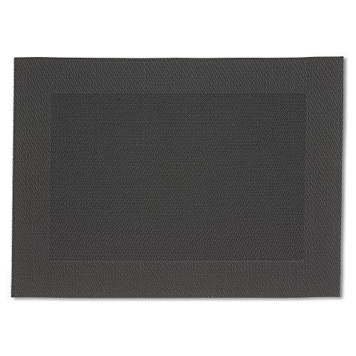 Kela Tisch-Sets Nicoletta 6tlg (6 x 12045), PVC, 45 x 33,5 cm, Anthrazit