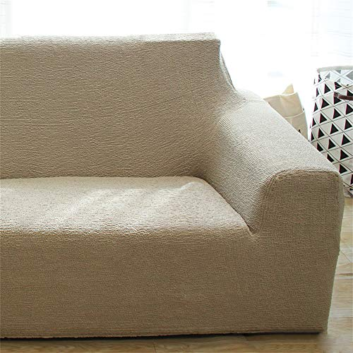 Simple and Modern Sofa Cover for Leather Sofa Stretch Four Seasons Sofa Slipcover Anti-Slip Pet Cover for Couch Chivas Regal