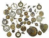 Kinteshun Clocks and Watches Dial Face Movement Charm...