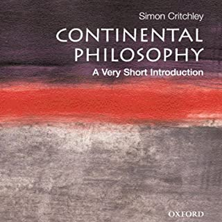 Continental Philosophy: A Very Short Introduction cover art
