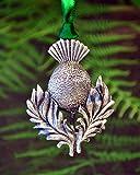Scottish Thistle Christmas Ornament | Scottish Holiday | Thistle Christmas Decor