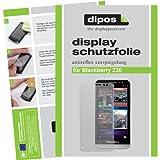 dipos I 2X Schutzfolie matt kompatibel mit BlackBerry Z30 Folie Bildschirmschutzfolie