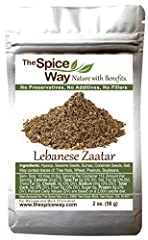 WHAT IS LEBANESE ZA'ATAR - The Lebanese Za'atar has been used for centuries with hyssop that loves growing in the Middle-Eastern weather. The Hyssop is traditionally considered to have extensive health benefits. When absent, sometime spice merchants ...