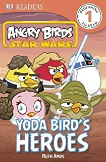 Dk Readers Angry Birds Star Wars Yoda Bird's Heroes Level 1 by Dorling Kindersley (May 28 2013)