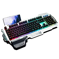 【Clavier semi-mécanique】 Ce clavier utilise une structure semi-mécanique. Il associe un clavier à membrane à des commutateurs mécaniques. Il présente donc les avantages du clavier mécanique et du clavier à membrane. Il garantit un environnement plus ...