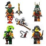 LEGO Ninjago 5 Skybound Pirate Army - Clancee, Cyren, Doubloon, Monkey and Nadakhan