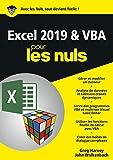 Excel 2019 & VBA pour les Nuls, mégapoche