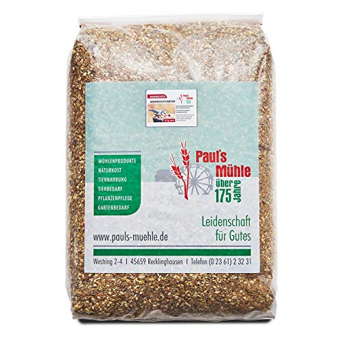 Paul´s Mühle Premium Ganzjahresfutter für Wildvögel mit extra hohem Fettanteil, Vogelfutter zur Ganzjahresfütterung, Senkrechtstarter, 25 kg