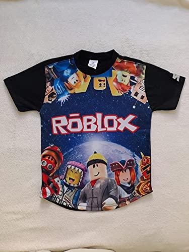 Camiseta Infantil Roblox 2 (G/8 a 10anos)
