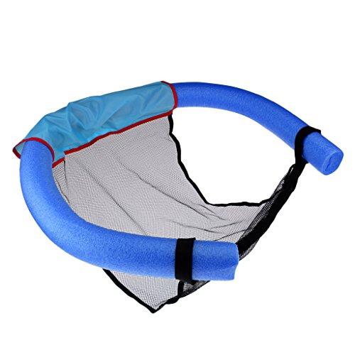 lahomia Silla de La Malla de La de Los Tallarines de La Piscina del Palillo de La Flotabilidad de La Espuma de Los 6.5 * 150cm - Azul