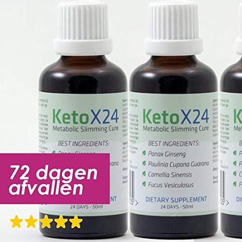 KetoX24 Afvallen Origineel Afslanksupplement - 3 maanden afvallen met KetoX24