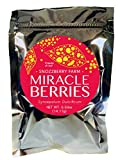 Intro-Pack Miracle Berries by The Snozzberry Farm, contains 88 berry halves, freeze dried 100% Miracle Fruit, Non-GMO, Grown in the USA, Makes sour sweet, great for flavor tripping parties