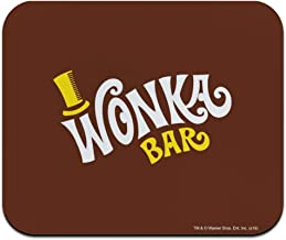 Willy Wonka and The Chocolate Factory Wonka Bar Logo Low Profile Thin Mouse Pad Mousepad