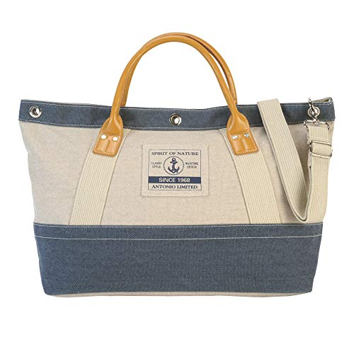 XL elegante strand- en handtas CasualSpirit XL in maritim-look