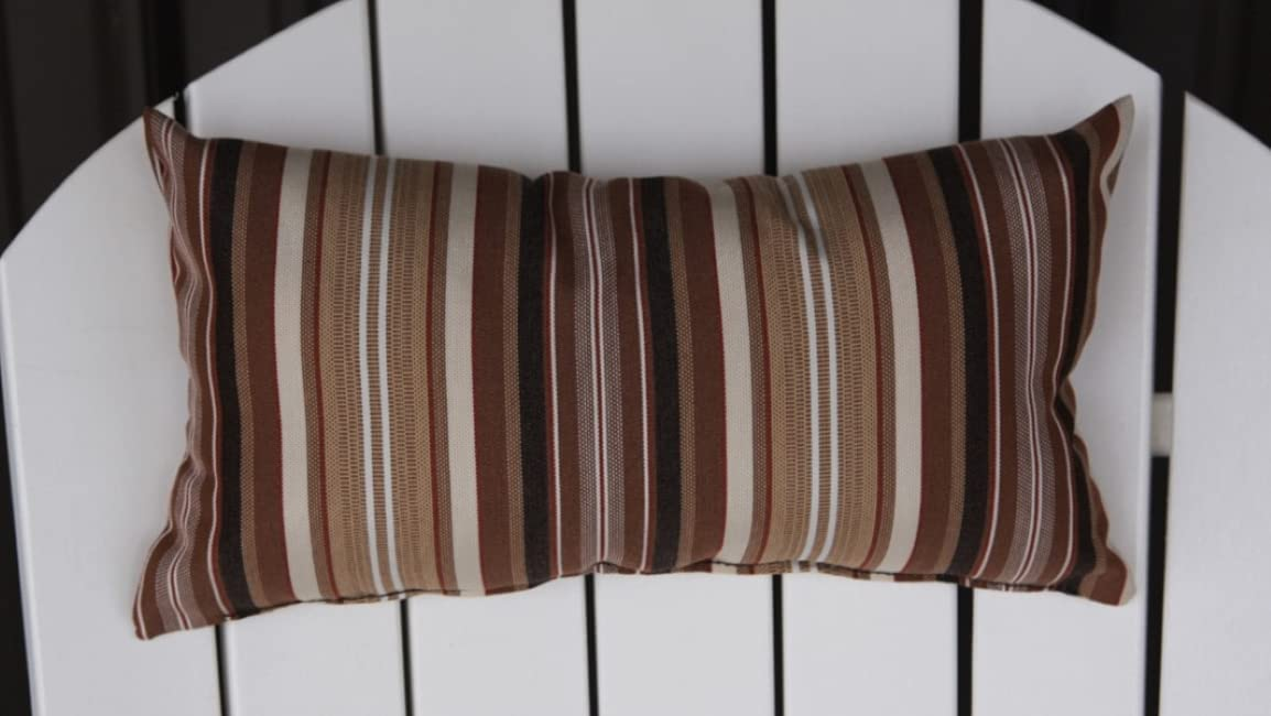 Adirondack Chair Headpillow Maroon Online limited Bombing free shipping product Stripe