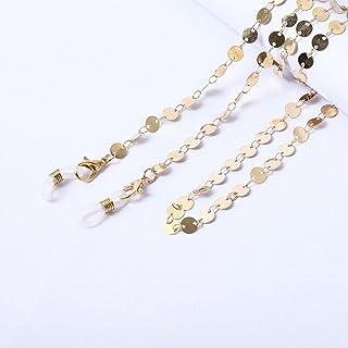 Boules Chaîne Long Collier/Lunettes Mode Cou Sangle En Métal Lunettes Chaîne Femmes Bijoux Décoration Accessoires-5