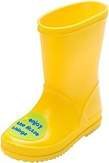: bottes de pluie enfant Jaune : Bébé & Puériculture